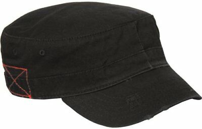 MG Distressed Washed Cotton Cadet Army Cap](Mg Hats)