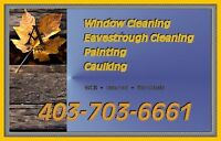 **WINDOW CLEANING**PAINTING** Call*403-703-6661