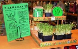 PetGrass+ is a naturally grown, locally produced Pet Grass