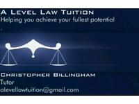 A level law tuition (AQA or OCR) examination board
