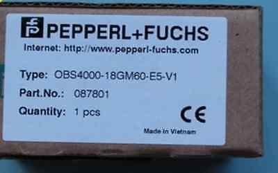 1pc Brand New Pepperl Fuchs Obs4000-18gm60-e5-v1 Rs19