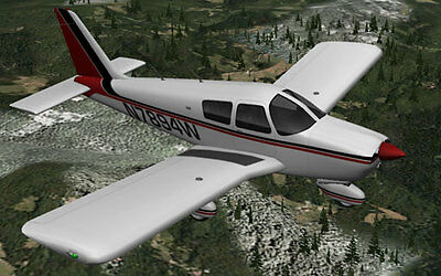 Piper Cherokee 180   56 inch Giant Scale RC AIrplane Printed Plans
