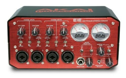 Akai EIE Pro 4-channel Audio USB Interface Mac/Windows Recording Studio MIDI VU - $179.99