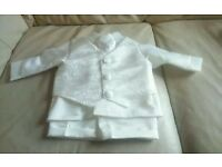 Babies christening outfit