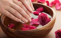 Bringing manicure,pedicure to your home