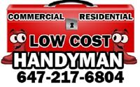 HANDYMAN SERVICE FOR LESS