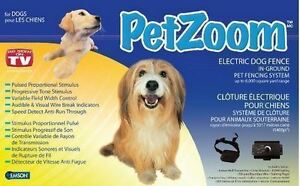 New PetZoom Invisible Dog Fence