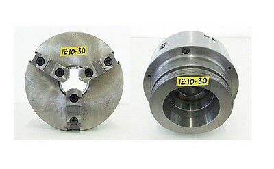 Bison 10 3 Jaw L2 Spindle Mount Manual Lathe Self Centering Chuck