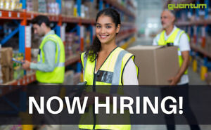 Order Pickers – Students Welcome – 30 Candidates Required!