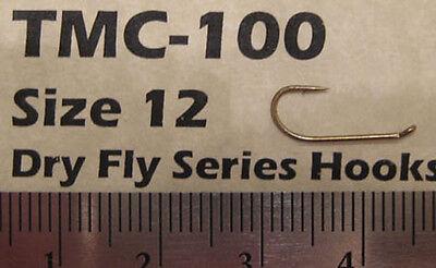 Fly Tying Hooks -  Dry flies 50/pkg Size 12 TMC100