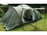 Coleman riverside deluxe 6 man tent