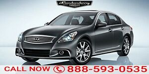 2012 Infiniti G37 Sedan AWD 4DR X Leather,  Bluetooth,
