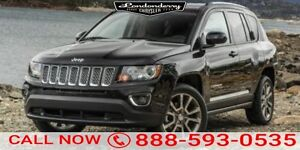 2014 Jeep Compass AWD LIMITED Accident Free,  Navigation (GPS),