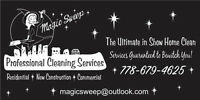 MAGIC SWEEP PROFESSIONAL CLEANING SERVICES