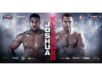 Anthony Joshua vs. Vladamir Klitschko***29th April 2017***Wembley Stadium***