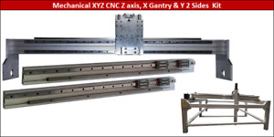 CNC Machine Gantry, Z axis & Sides Mechanical kit Plasma Router