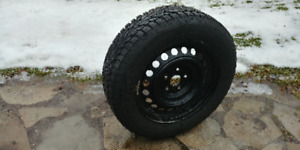 4 snow tires and rims 215 /60 /R16
