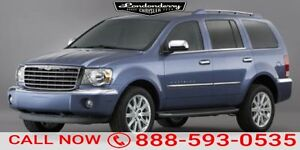 2007 Chrysler Aspen AWD LIMITED Accident Free,  Rear DVD,  Leath