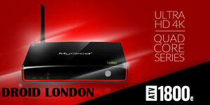 Mygica 1800e TV Streaming Box Fully Programmed Free Delivery