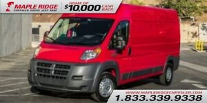 2018 Ram ProMaster Cargo Van High Roof