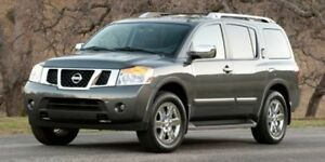 2014 Nissan Armada PLATINUM EDITION Navigation (GPS),  Rear DVD,