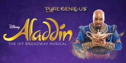Aladdin QPAC tickets x2