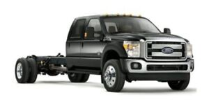 2015 Ford Super Duty F-550 DRW Lariat, 200 WB Chassis, Heated &