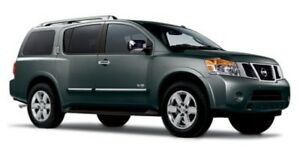 2012 Nissan Armada SV 4X4 LEATHER Leather,  Heated Seats,  A/C,