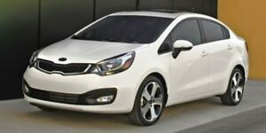 2013 Kia Rio 6-SPEED SEDAN 3rd Row,
