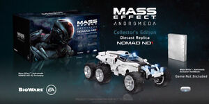 Mass Effect Andromeda Nomad Diecast NEW