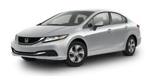 2015 Honda Civic Sedan EX Accident Free,  Heated Seats,  Back-up
