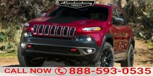2016 Jeep Cherokee 4WD TRAILHAWK Navigation (GPS),  Leather,  Su