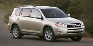 2008 Toyota RAV4 AWD LIMITED Accident Free,  Leather,  Heated Se