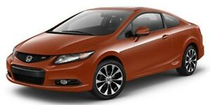 2013 Honda Civic Cpe Si MANUAL SUNROOF NAVI