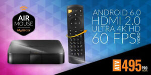 MyGica ATV495 PRO HDR Android 6, 4K, Quad Core, 2GB.AIR MOUSE
