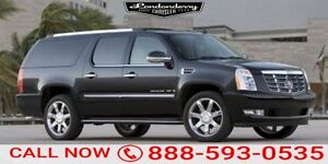 2007 Cadillac Escalade Esv AWD ESU Navigation (GPS),  Rear DVD,