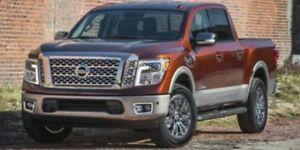 2018 Nissan Titan 4X4 PRO-4X CREW CAB BIRD-EYE CAMERA, BLUETOOTH
