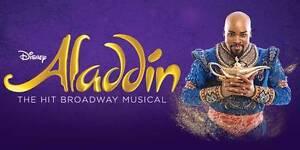 "2 Aladdin Musical Tickets Melbourne 27May ""Producer Reserve"" sec. Melbourne CBD Melbourne City Preview"