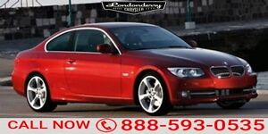 2012 BMW 3 Series COUPE SPORT M PACKAG Navigation (GPS),  Leathe