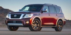 2019 Nissan Armada AWD PLATINUM 20 DARK CHROME WHEELS, WIPER DE-