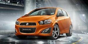2015 Holden Barina TM MY16 RS Orange 6 Speed Manual Hatchback Mandurah Mandurah Area Preview