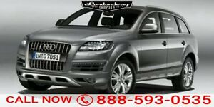 2015 Audi Q7 Q7 Navigation (GPS),  Leather,  Sunroof,  Bluetoot
