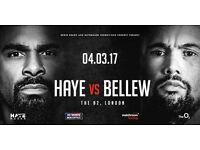 Tony Bellew vs David Haye 02 Arena