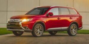 2017 Mitsubishi Outlander SE AWD LOW KM SUNROOF 7PASS LOADED