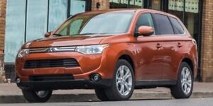 2014 Mitsubishi Outlander Accident Free,  Heated Seats,  3rd Row
