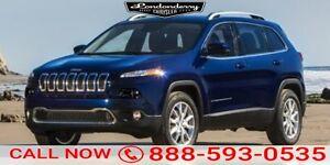 2016 Jeep Cherokee 4WD LATITUDE Back-up Cam,  Bluetooth,