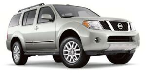 2012 Nissan Pathfinder S Leather,  3rd Row,
