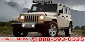 2011 Jeep Wrangler Unlimited 4WD SAHARA UNLIMITED Accident Free,