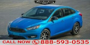 2015 Ford Focus S FWD Accident Free,  Bluetooth,