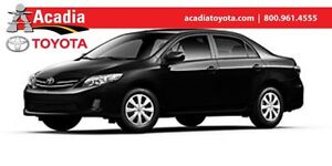 2013 Toyota Corolla CE Enchanced Conv Pkg with Moonroof!